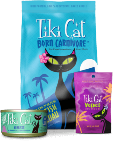 Tiki Pets - Tiki Cat & Tiki Dog - Say Aloha to Real Food