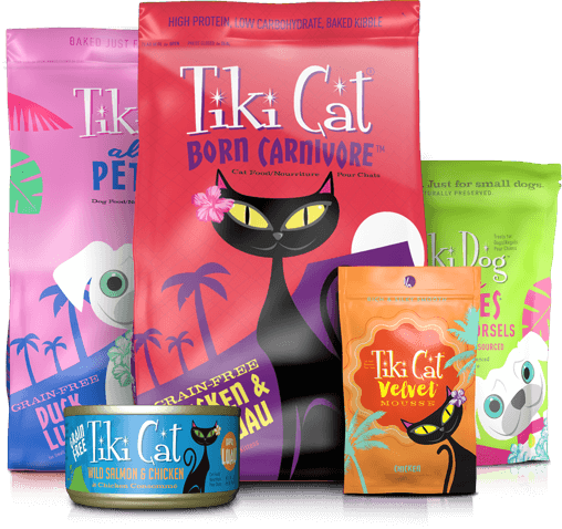 Tiki Cat Tiki Dog Grain Free Pet Food