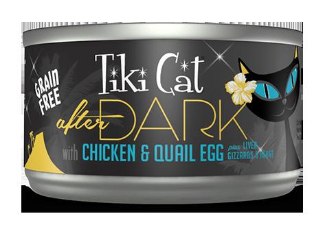 Tiki Cat 174 After Dark Chicken Amp Quail Egg