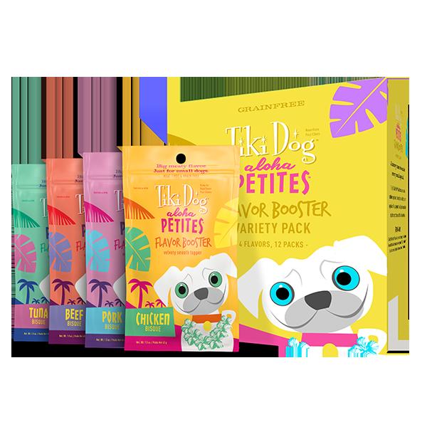 Tiki Dog Aloha Petites Variety Pack Flavor Boosters
