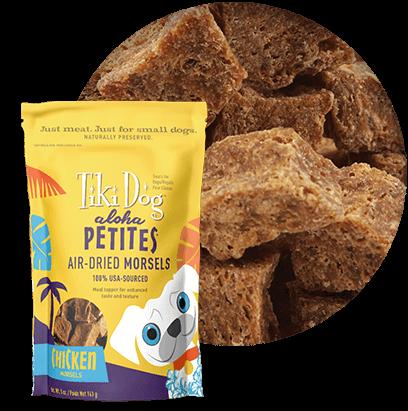 Tiki Dog Aloha Petites Air-Dried Morsels Chicken