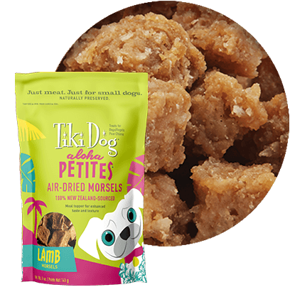Tiki Dog Aloha Petites Air-Dried Morsels Lamb