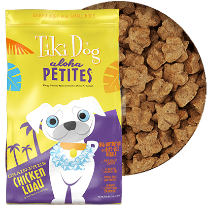 Tiki Dog Aloha Petites Chicken Luau Dog Food