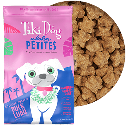 Tiki Dog Aloha Petites Duck Luau Dog Food