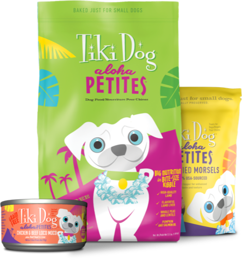 Tiki Dog Aloha Petites Dog Food