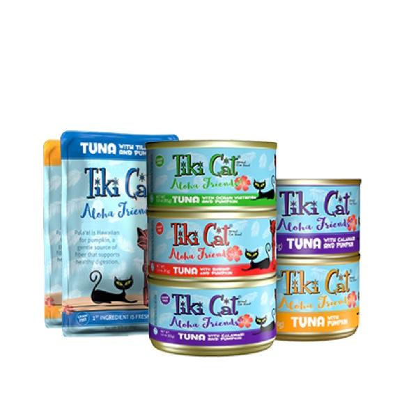 Tiki Cat Aloha Friends Cat Food