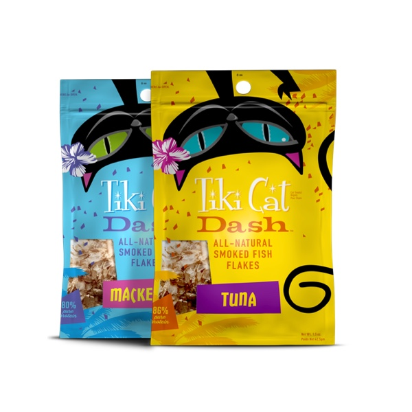 Tiki Cat Dash Cat Food Meal Toppers