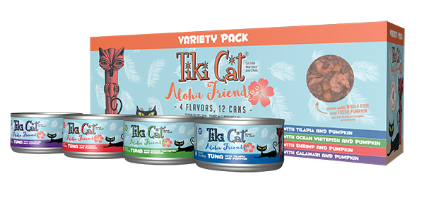 Tiki Cat Variety Pack Aloha Friends Cat Food