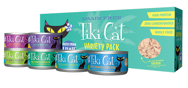 Tiki Cat Lua Variety Pack Queen Emma Cat Food