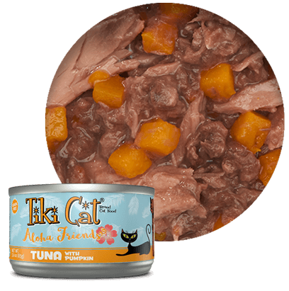 Tiki Cat Aloha Friends Tuna with Pumpkin