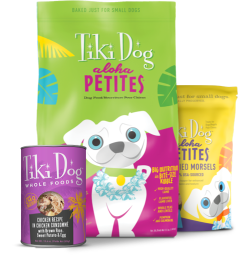Tiki Dog Food
